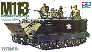 M113 U.S. Armoured Personnel Carrier 1/35 35040 Tamiya