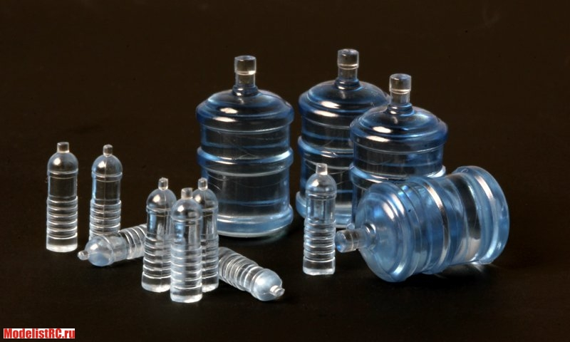 SPS-010 Meng 1/35 WATER BOTTLES FOR VEHICLE/DIORAMA (Бутылки для воды)