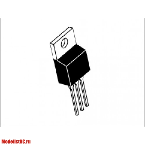 MOSFET IRFZ44 To-220