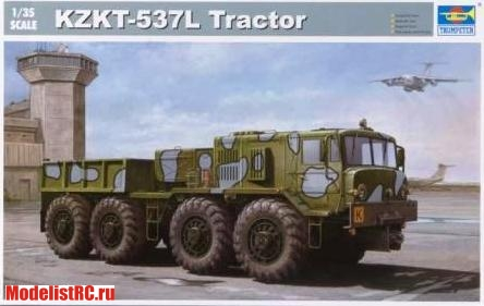 01005 Trumpeter 1/35 KZKT-537I Tractor