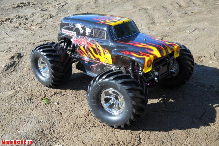 GHOST MT 4WD HSP 1/10
