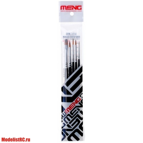 MTS-010 Meng Set of brushes (5pcs)
