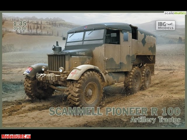 35030 IBG models 1/35 Scammell Pioneer R100 Artillery Tractor