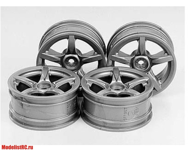 Диски 4шт 1/10 GT Wheels Tamiya 51071