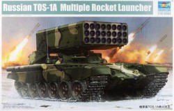 Russian TOS-1 24-Barrel Multiple Rocket 1/35 Trumpeter