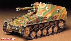 Гаубица Wespe German self-propelled howitzer 1/35 35200 Tamiya