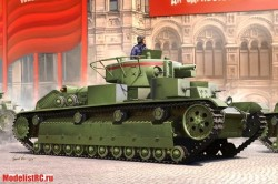 Танк Soviet T-28 Medium Tank (Early) (Hobby Boss) 1/35