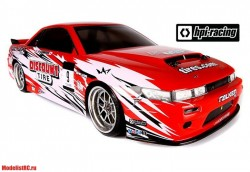 Дрифт 1/10 - E10 NISSAN S-13/DISCOUNT TIRE BODY