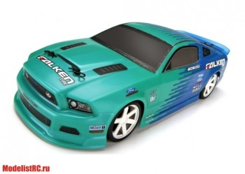 HPI 1/18 Micro RS4 FORD MUSTANG JUSTIN PAWLAK/FALKEN TIRE 2013 (Влагозащита, полный компл.) HPI-111230