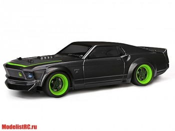 HPI 1/18 Micro RS4 1969 FORD MUSTANG RTR-X (Влагозащита) HPI-112468