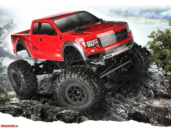 CRAWLER KING RTR WITH FORD F-150 SVT RAPTOR BODY HPI-115118