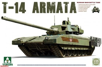 2029 Takom 1/35 Russian Main Battle Tank T-14 Armata