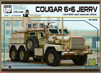 1/35 COUGAR 6X6 MRAP PH35010