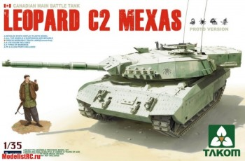 1/35 CANADIAN MAIN BATTLE TANK LEOPARD C2 MEXAS 2003