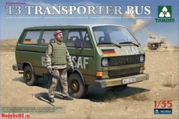 1/35 Bundeswehr T3 Transporter Bus (with 1 figure) 2013