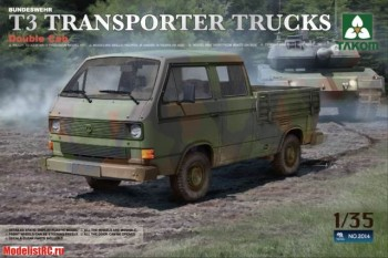 1/35 Bundeswehr T3 Transporter Truck (Double Cab)  2014