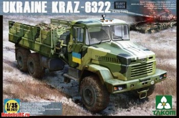 1/35 Ukraine KrAZ-6322 Heavy Truck (late type) 2022