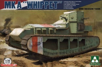 1/35 WWI Medium Tank Mk A  Whippet 2025