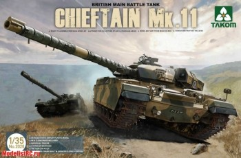 1/35 British Main Battle Tank Chieftain Mk.11 2026