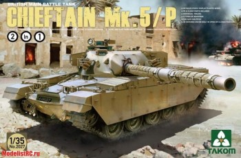 2027 Takom 1/35 BRITISH MAIN BATTLE TANK CHIEFTAIN Mk.5/P