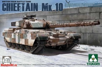 2028 Takom 1/35 BRITISH MAIN BATTLE TANK CHIEFTAIN Mk.10