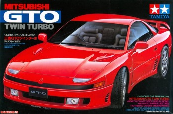24108 Tamiya 1/24 Автомобиль Mitsubishi GTO Twin Turbo