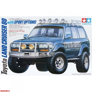 24122 Tamiya 1/24 Toyota Land Cruiser 80 - w/Sport Options
