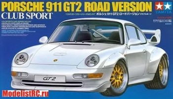 24247 Tamiya 1/24 911 Gt2 Road Ver. Club Sport