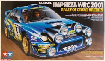 24250 Tamiya 1/24 Impreza WRC 2001 Great Britain