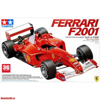 20052 Tamiya 1/20 Formula 1 (Grand Prix Collection) Ferrari F2001