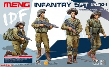 HS-004 Infantry set 2000 135 Meng