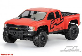 SC 1/10 Chevy Silveradoa HD некрашенный (for Slash, Slash 4X4, SC10) PL3385-00
