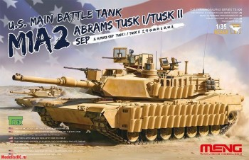 TS-026 Meng 1/35 M1A2 SEP Abrams Main Battle Tank