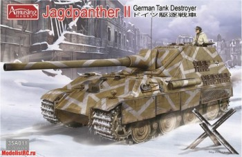 35A011 Amusing Hobby 1/35 German Tank Destroyer Jagdpanther II