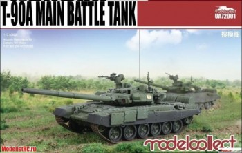 UA72001 T-90A Main Battle Tank (welded turret)