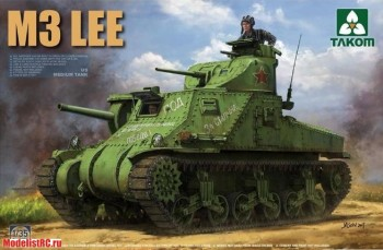 2085 Takom 1/35 U.S. MEDIUM TANK M3 LEE EARLY