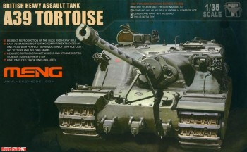 TS-002 Meng 1/35 British Heavy Assault Tank A39 Tortoise