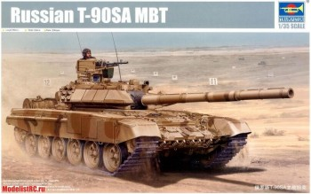 05563 Trumpeter 1/35 Russian T-90C MBT Welded Turret