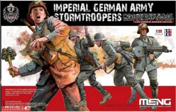 HS-010 Meng Imperial German Army Stormtroopers