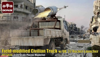 DP35020 1/35 Field-Modified Civilian Truck w/ UB-32
