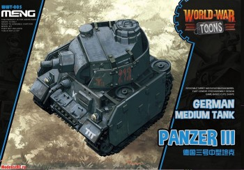 WWT-005 Meng 1/35 German Medium Tank Panzer III