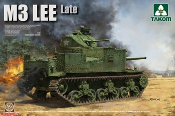 2087 Takom 1/35 US Medium Tank M3 Lee Late