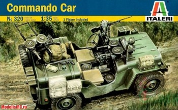 320 Italeri 1/35 Commando Car