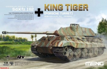 TS-037 Meng 1/35 German Heavy Tank Sd.Kfz.182 King Tiger (Porsche Turret)