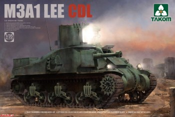 2115 Takom 1/35 US MEDIUM TANK M3A1 LEE CDL