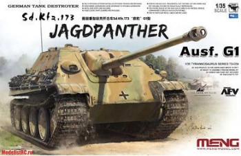TS-039 Meng 1/35 German Tank Destroyer Sd.Kfz.173 Jagdpanther
