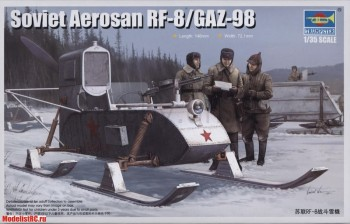 02322 Trumpeter 1/35 Советские аэросани РФ-8