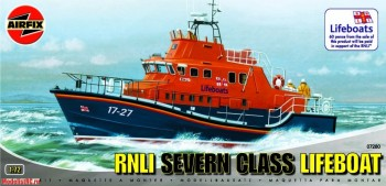 7280 Airfix 1/72 RNLI Severn Class Lifeboat
