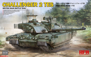 RM-5039 Rye Field Model 1/35 BRITISH MAIN BATTLE TANK CHALLENGER 2 TES