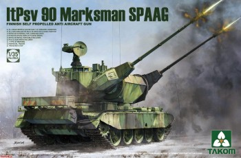 2043 Takom 1/35 Finnish Self Propelled Anti Aircraft Gun ltPsv 90 Marksman SPAAG
